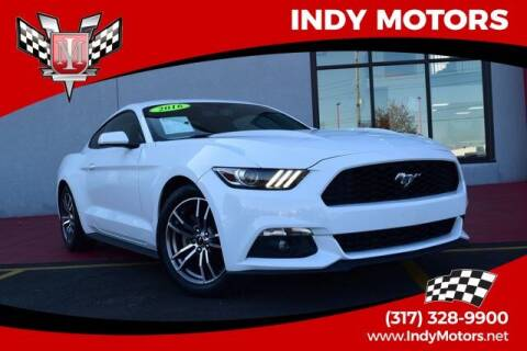 2016 Ford Mustang for sale at Indy Motors Inc in Indianapolis IN