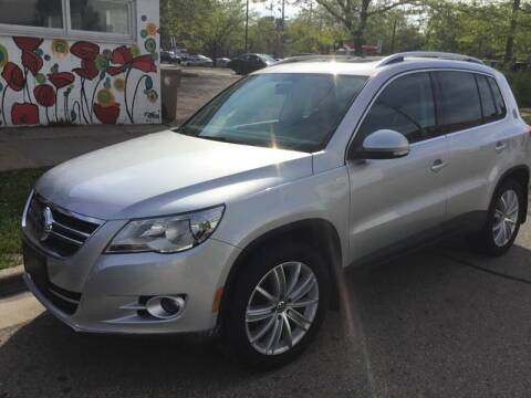 2010 Volkswagen Tiguan for sale at Steve's Auto Sales in Madison WI
