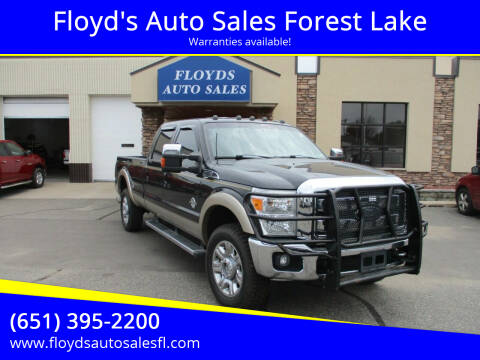 2012 Ford F-350 Super Duty for sale at Floyd's Auto Sales Forest Lake in Forest Lake MN