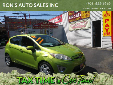 2011 Ford Fiesta for sale at RON'S AUTO SALES INC in Cicero IL