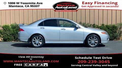 2006 Acura TSX for sale at Manteca Auto Land in Manteca CA