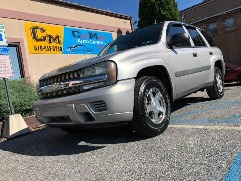 2005 Chevrolet TrailBlazer for sale at Car Mart Auto Center II, LLC in Allentown PA