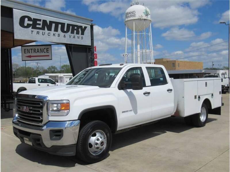 2015 GMC 3500 Sierra DRW for sale at CENTURY TRUCKS & VANS in Grand Prairie TX