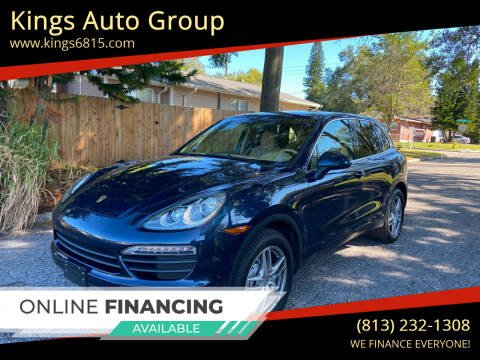 2012 Porsche Cayenne for sale at Kings Auto Group in Tampa FL