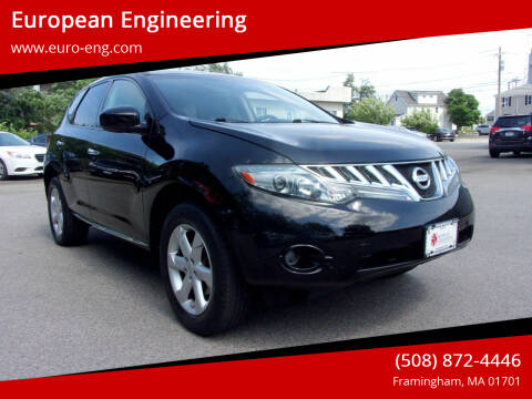 2010 Nissan Murano for sale at European Engineering in Framingham MA