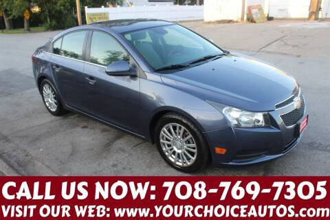 2013 Chevrolet Cruze for sale at Your Choice Autos in Posen IL