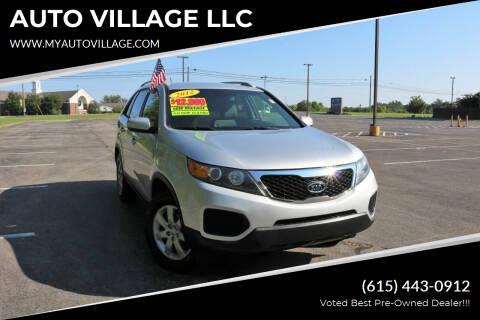 2012 Kia Sorento for sale at AUTO VILLAGE LLC in Lebanon TN