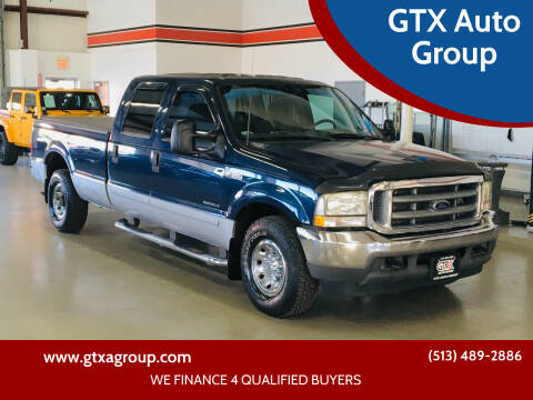 2002 Ford F-350 Super Duty for sale at GTX Auto Group in West Chester OH