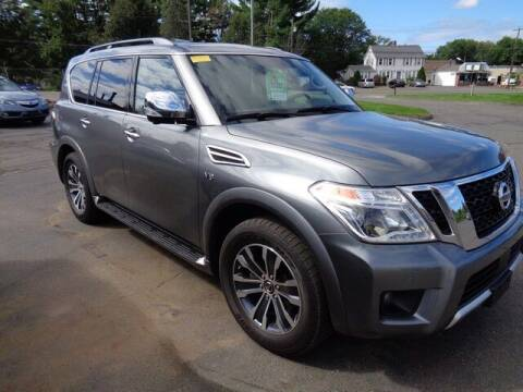2018 Nissan Armada for sale at BETTER BUYS AUTO INC in East Windsor CT