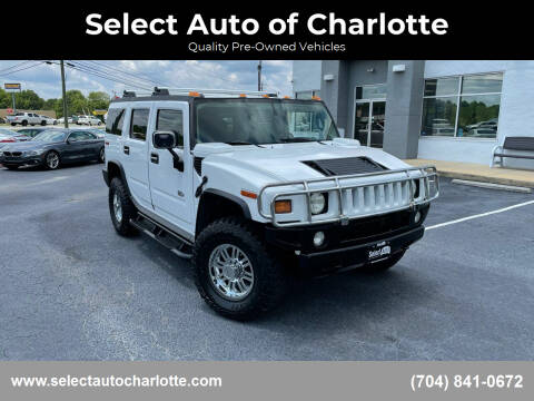 2003 HUMMER H2 for sale at Select Auto of Charlotte in Matthews NC