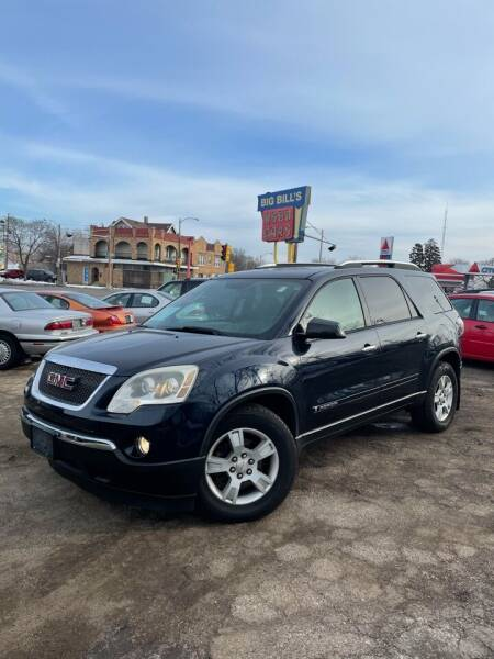 2007 GMC Acadia for sale at Big Bills in Milwaukee WI