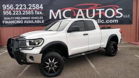 2011 Toyota Tundra for sale at MC Autos LLC in Pharr TX