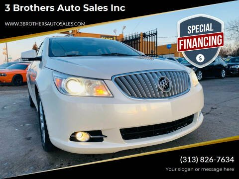 2012 Buick LaCrosse for sale at 3 Brothers Auto Sales Inc in Detroit MI