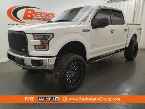 2015 Ford F-150 for sale at Becks Auto Group in Mason OH