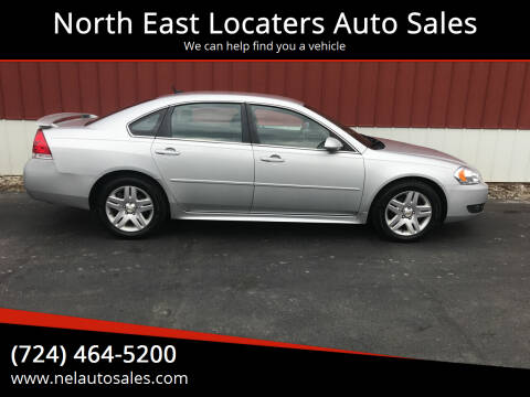2011 Chevrolet Impala for sale at North East Locaters Auto Sales in Indiana PA