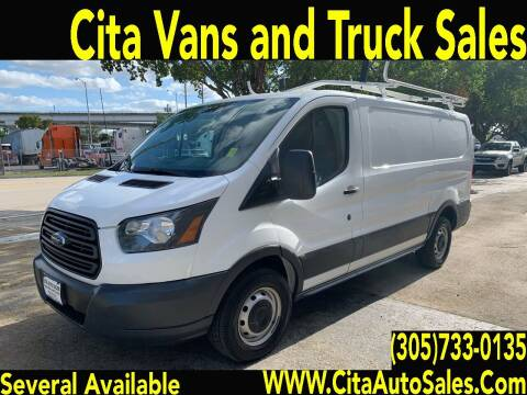 2015 Ford Transit Cargo for sale at Cita Auto Sales in Medley FL