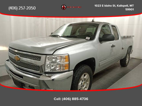 2012 Chevrolet Silverado 1500 for sale at Auto Solutions in Kalispell MT