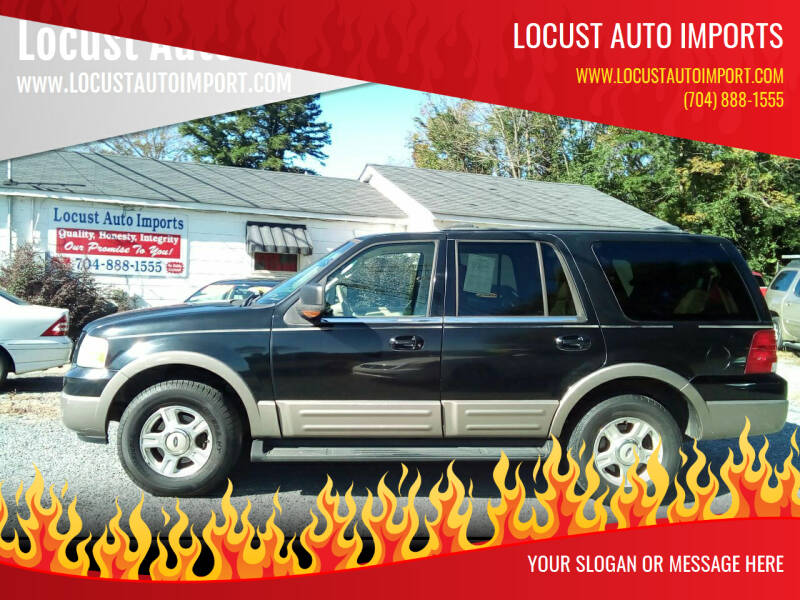 2003 Ford Expedition for sale at Locust Auto Imports in Locust NC