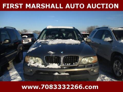 2006 BMW X5 for sale at First Marshall Auto Auction in Harvey IL