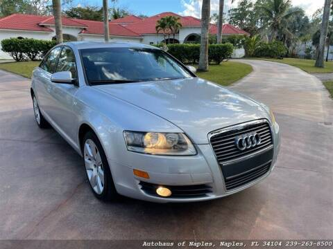 2005 Audi A6 for sale at Autohaus of Naples Inc. in Naples FL