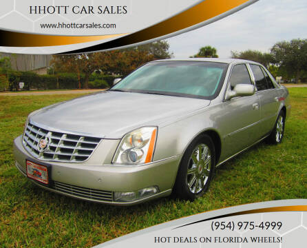 2007 Cadillac DTS for sale at HHOTT CAR SALES in Deerfield Beach FL