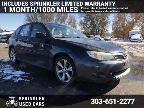 2008 Subaru Impreza for sale at Sprinkler Used Cars in Longmont CO