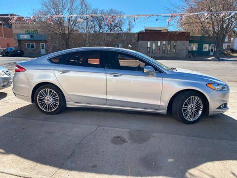 2014 Ford Fusion for sale at PYRAMID MOTORS AUTO SALES in Florence CO