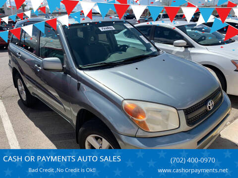 2005 Toyota RAV4 for sale at CASH OR PAYMENTS AUTO SALES in Las Vegas NV