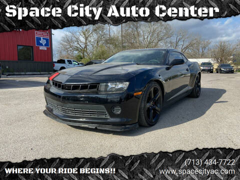 2014 Chevrolet Camaro for sale at Space City Auto Center in Houston TX