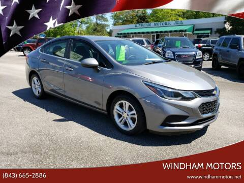2018 Chevrolet Cruze for sale at Windham Motors in Florence SC