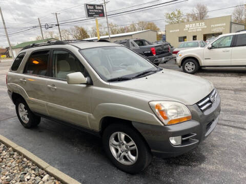 2008 Kia Sportage for sale at Bruce Kunesh Auto Sales Inc in Defiance OH