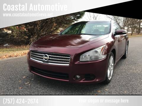 2010 Nissan Maxima for sale at Coastal Automotive in Virginia Beach VA
