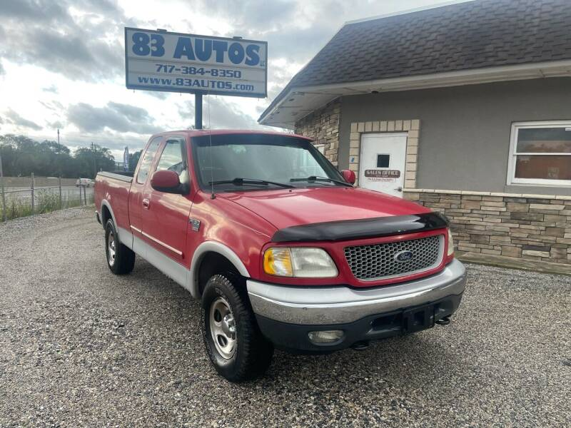 1999 Ford F-150 for sale at 83 Autos in York PA