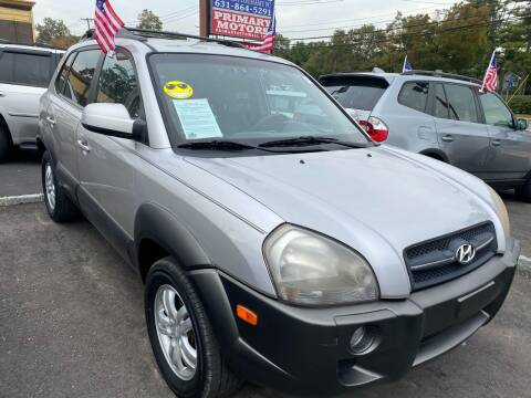 2006 Hyundai Tucson for sale at Primary Motors Inc in Commack NY