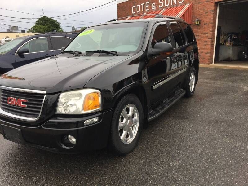 2003 GMC Envoy for sale at Cote & Sons Automotive Ctr in Lawrence MA