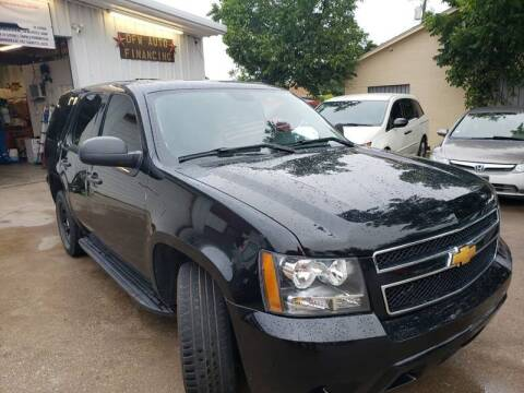 2014 Chevrolet Tahoe for sale at Bad Credit Call Fadi in Dallas TX