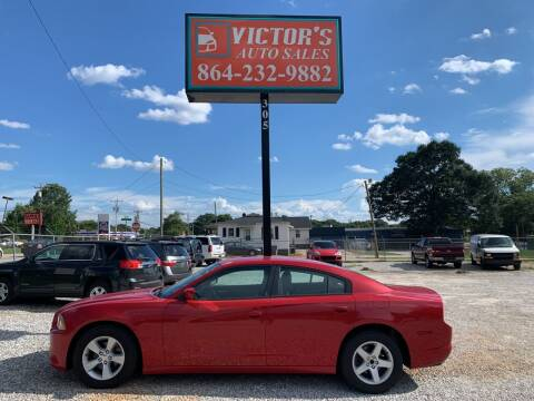 2012 Dodge Charger for sale at Victor's Auto Sales in Greenville SC