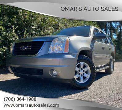 2007 GMC Yukon for sale at Omar's Auto Sales in Martinez GA