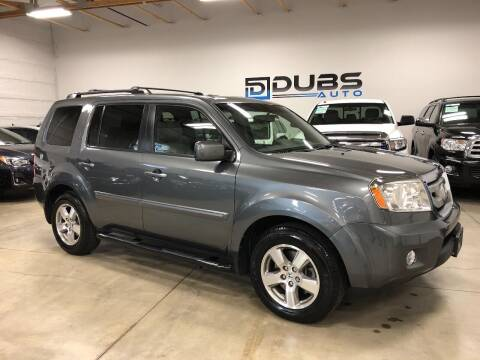 2011 Honda Pilot for sale at DUBS AUTO LLC in Clearfield UT