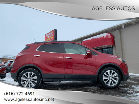 2017 Buick Encore for sale at Ageless Autos in Zeeland MI