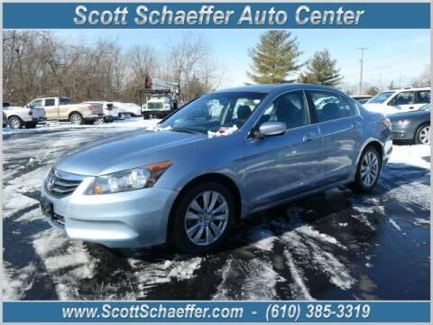 2011 Honda Accord for sale at Scott Schaeffer Auto Center in Birdsboro PA