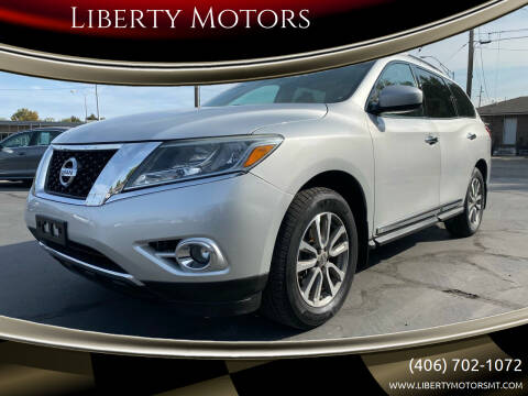 2014 Nissan Pathfinder for sale at Liberty Motors in Billings MT