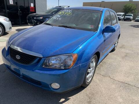 2006 Kia Spectra for sale at Legend Auto Sales in El Paso TX