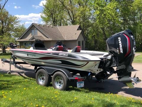 2018 EVINRUDE motor STRATOS boat TRACKER trailer