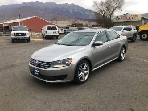 2014 Volkswagen Passat for sale at Orem Auto Outlet in Orem UT