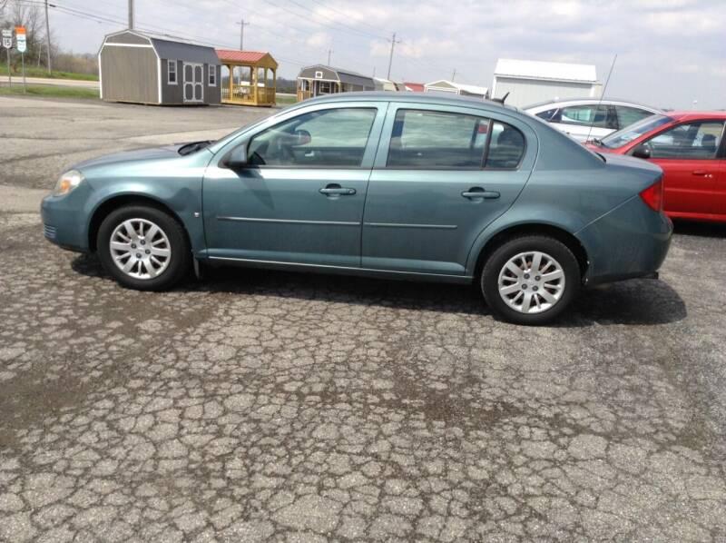 2009 Chevrolet Cobalt for sale at Kevin's Motor Sales in Montpelier OH