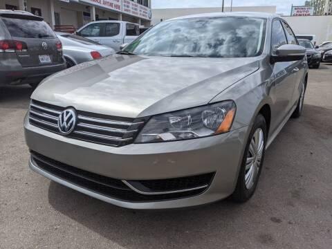 2014 Volkswagen Passat for sale at Convoy Motors LLC in National City CA