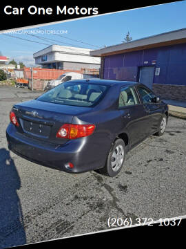 2010 Toyota Corolla for sale at Car One Motors in Seattle WA