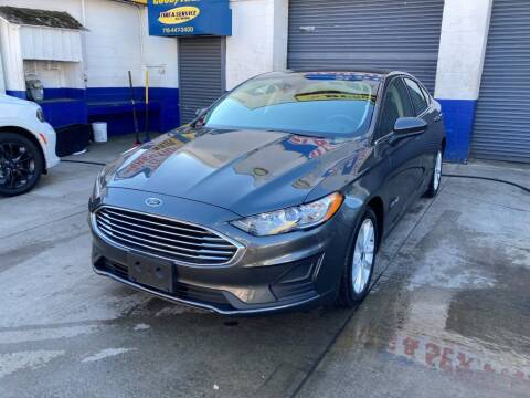 2019 Ford Fusion Hybrid for sale at US Auto Network in Staten Island NY