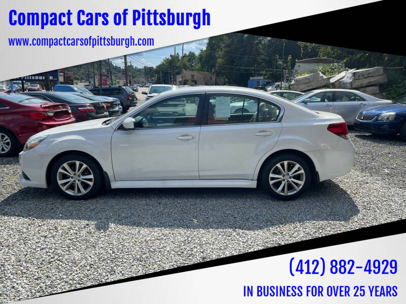 2013 Subaru Legacy for sale at Compact Cars of Pittsburgh in Pittsburgh PA